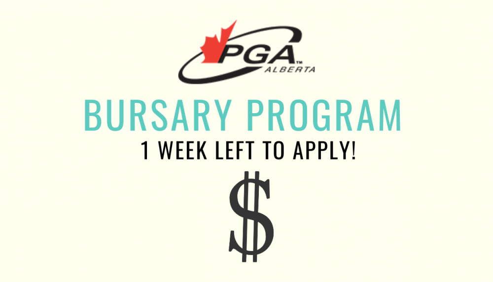 PGA of Alberta Bursary Program