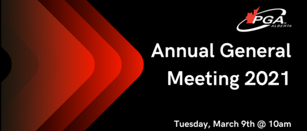 Annual General Meeting Reminder - TOMORROW @ 10am