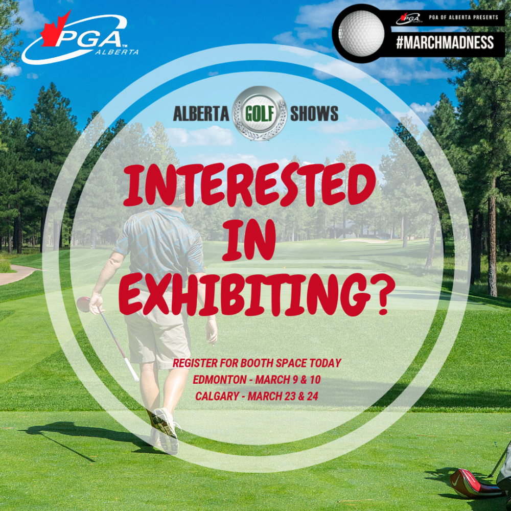 Alberta Golf Shows - Exhibitor Registration