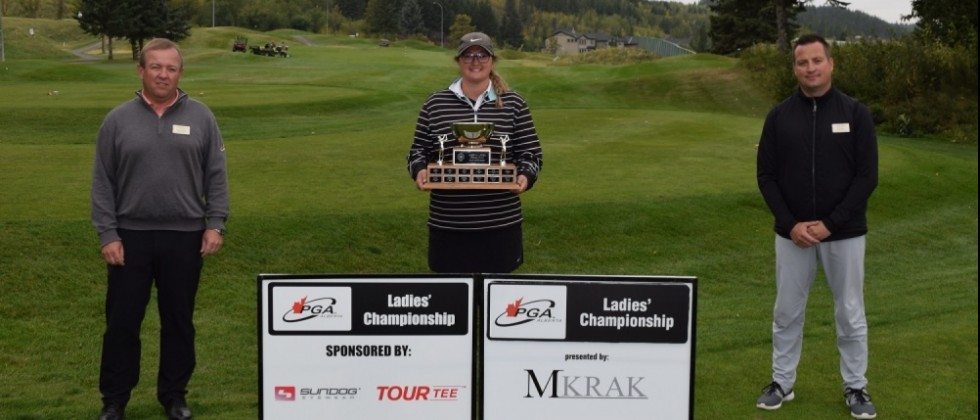Gina Gallops to Victory at her First Ladies' Championship