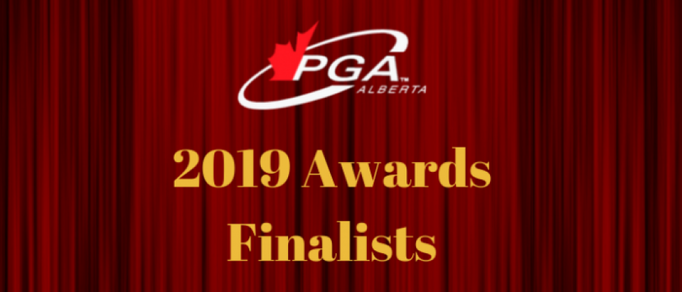 PGA of Alberta Announces 2019 Awards Finalists
