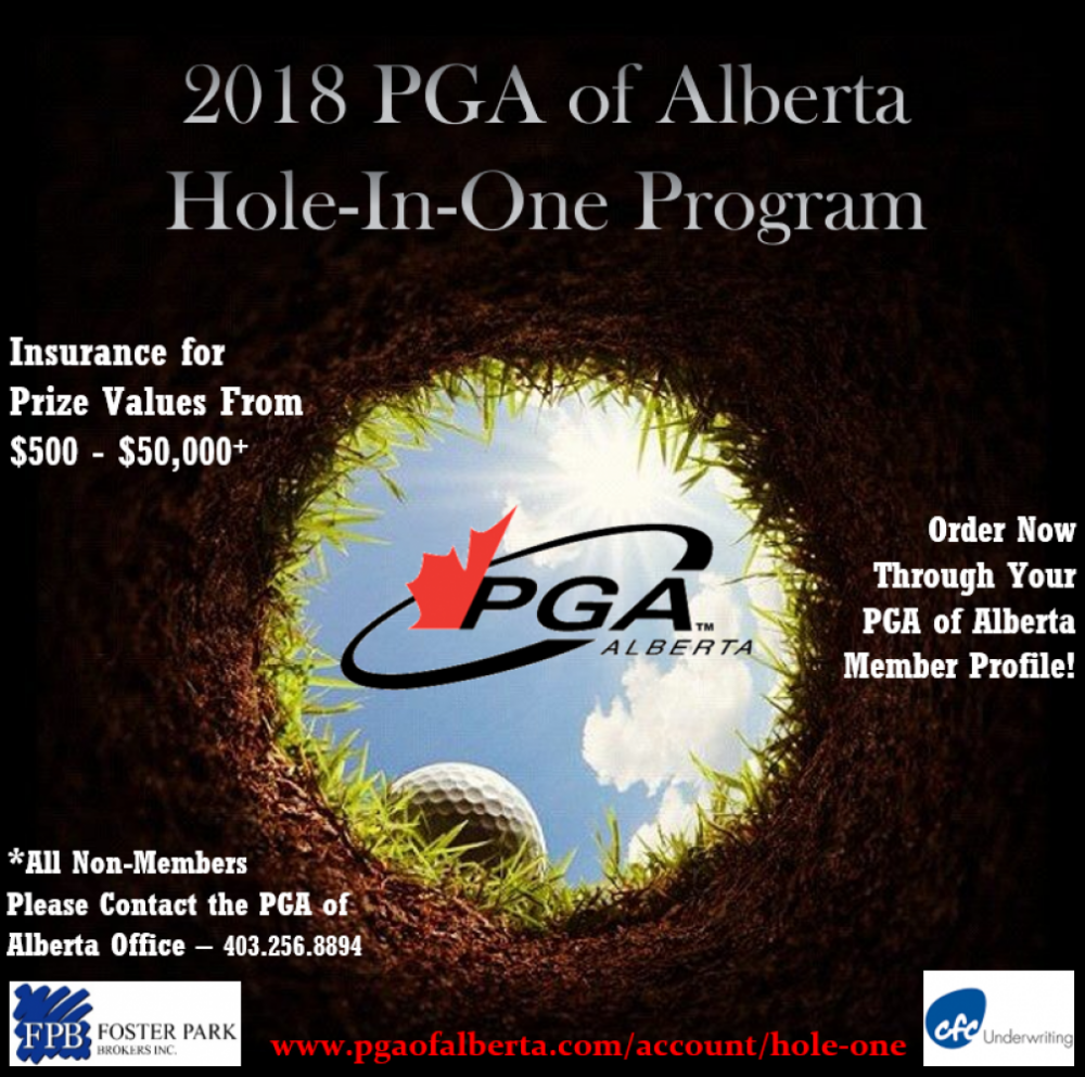 2018 Hole-In-One Program Details