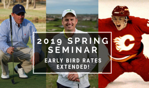 2019 Spring Seminar Early Bird Rates Extended!