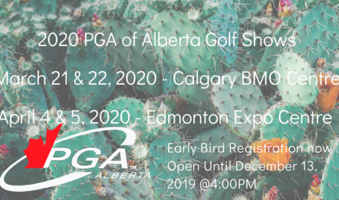 2020 Golf Show Early Bird Registration