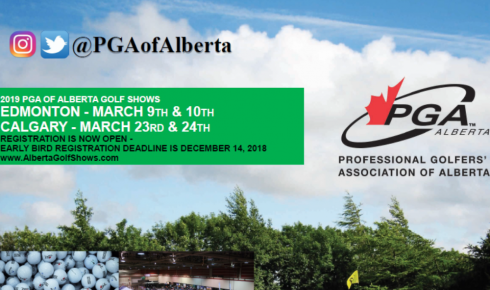 Alberta Golf Show - Early Bird Registration Deadline is TOMORROW