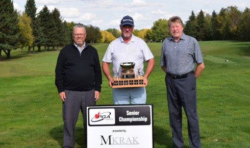 Darryl Dances His Way to Victory at Seniors' Championship
