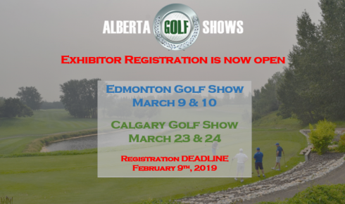 Golf Show Exhibitor Registration Is Now Open