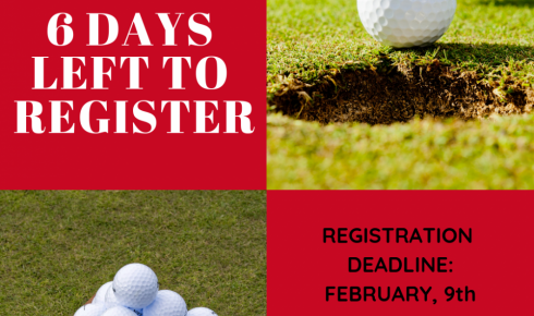 Golf Show Registration Deadline