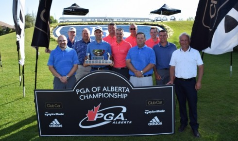 Heffernan Hangs On to Win PGA of Alberta Championship