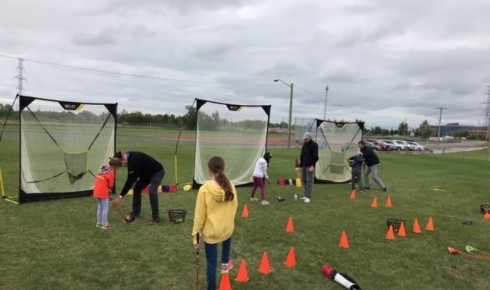PGA on Wheels Attends All Sport One Day Event in Calgary