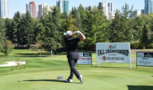 Risdon Ramps it Up at Round 1 of Sunice/Bobby Jones Fall Championship