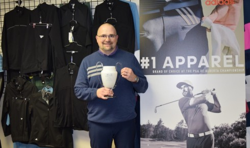 Ryan Doucette of adidas Golf Wins Sales Rep of the Year
