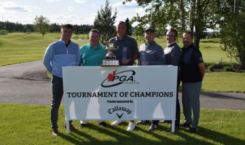 Stony Plain GC Wins Tournament of Champions