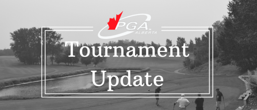 Tournament Schedule Update – First Two Events in June Cancelled